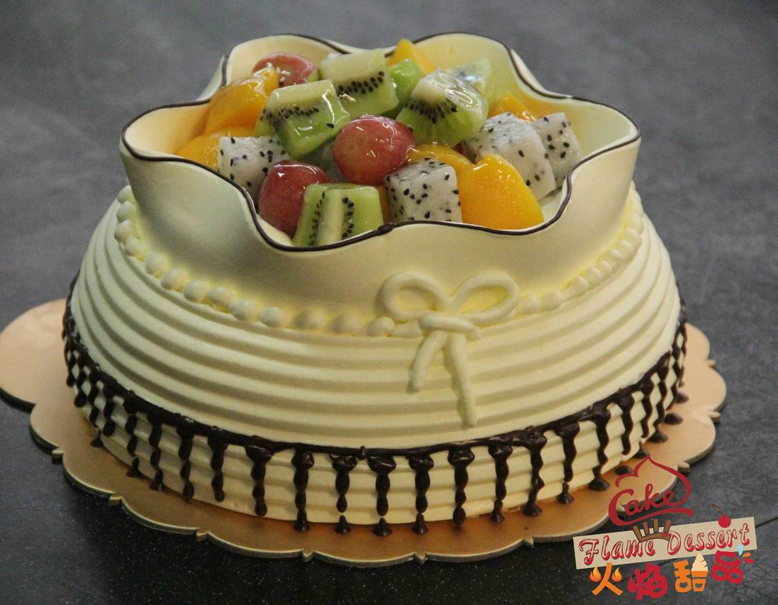 更新蛋糕寿桃蛋糕 甜心物语 甜蜜满园