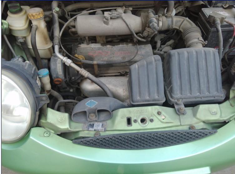 奇瑞QQ1.1L排量4缸发动机舒适款转让高清图片