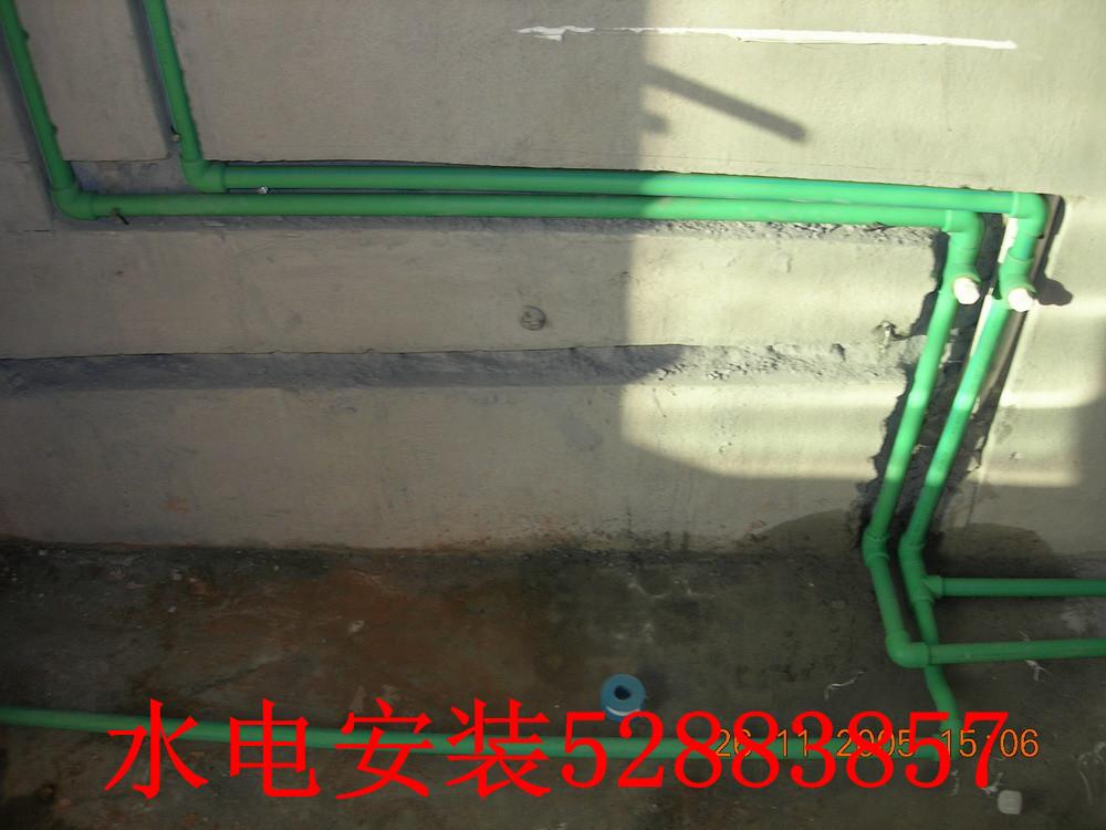 常熟房屋装修 厨卫车库改造 敲墙钻孔开门开槽 水电安装