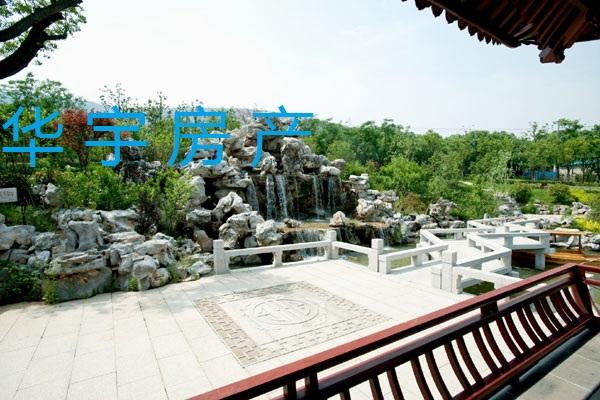 山水桃园纯中式别墅区 面积330平方现260万超低价出售