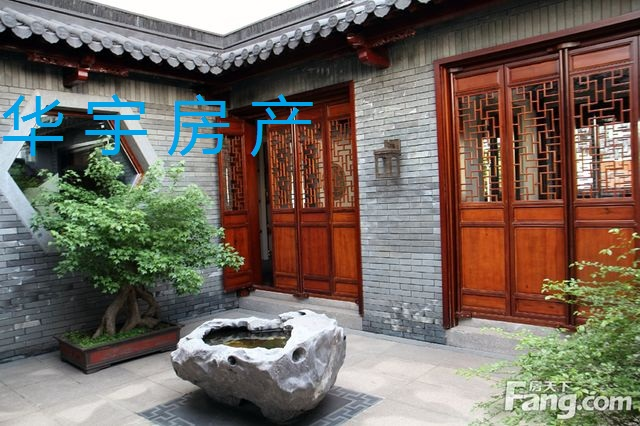 山水桃园纯中式别墅区 面积330平方现260万