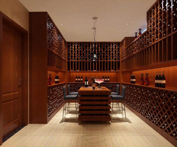 ⑤如地下室的酒窖,应采用单独的恒温系统,灯光采用冷色, 自然发酵.