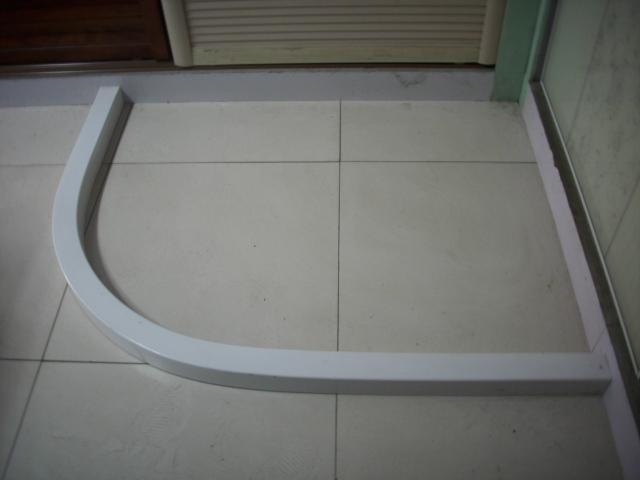 特卖㊣ 淋浴房挡水条 尺寸可订作 圆弧 钻石 直线型均有