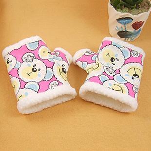 2311可爱小动物粉色半截手套.jpg